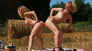 I fuck and fist the lesbian farm daughter