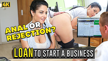 LOAN4K. Hottie Alex Black out of money so why she takes
