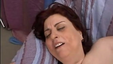 Fat mature italian woman
