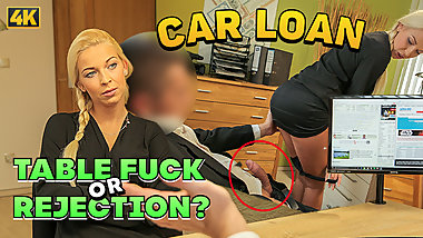 LOAN4K. Sex casting is performed in loan office by naughty
