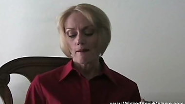 Beautiful And Horny Amateur GILF Loves Sucking Cock