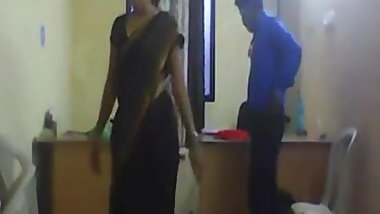 Indian wife with boss