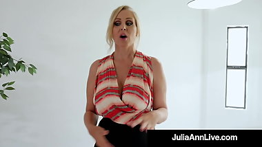 Sold! Busty Milf Julia Ann Sells Home With World Class BJ!