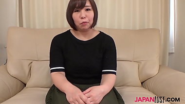 Chubby Konori Sasahara rides asian dick
