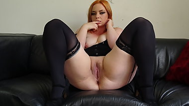 PASCALSSUBSLUTS - Curvy Redhead Harley Morgan Dominated