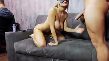 Best Couple Ever on webcam! Babe with amazing natural body