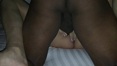 Wifes first time with massive bbc