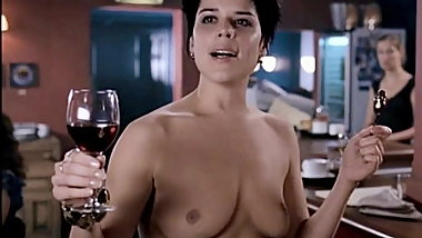 Neve Campbell Topless - I Really Hate My Job