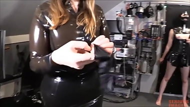 Teen Slave Slut Gets Plugged by Her Mistress