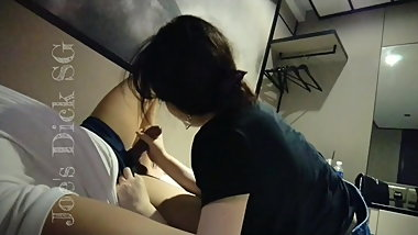 SG - Vietnamese Slut Slow Sucking My Dick