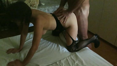 ANAL DOGGY WITH HER BULL