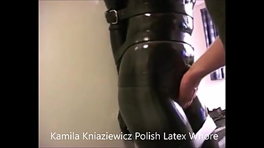 Kamila Kniaziewicz Polish Latex whore