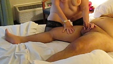 granny small cock massage