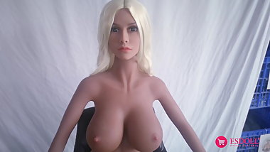 ESDOLL 140cm Harmony Cost Sex Doll for Sex Offenders