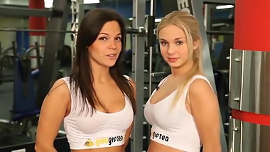 sport Russian girls