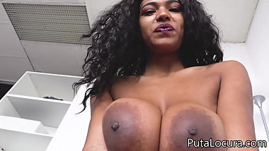 Brazilian Tina Fire with huge tits