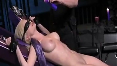 Master & Slavegirl - Tied, Waxed And Vibed