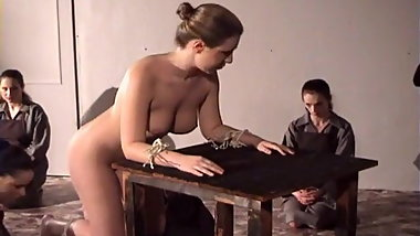 A Convent Caning.