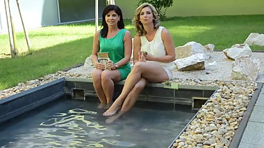 Legshow by hungarian TV hosts