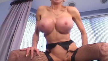 Blonde MILF Gets Dicked By A Younger Stud